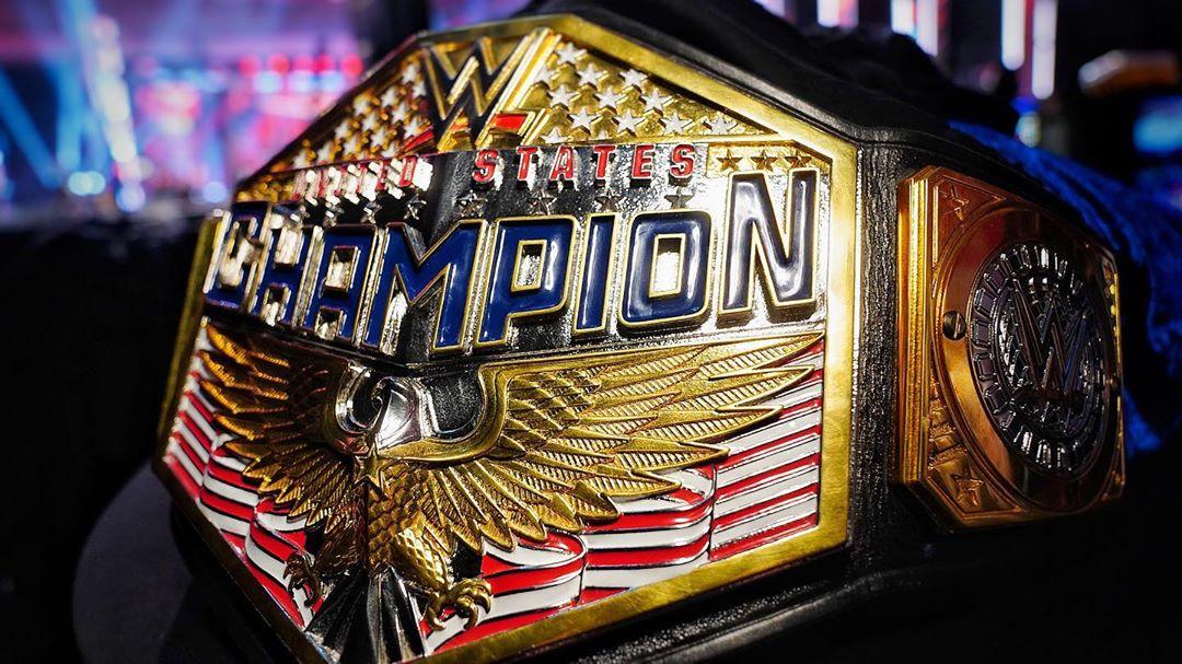 El nuevo Campeonato de los Estados Unidos WWE (06/07/2020) / WWE