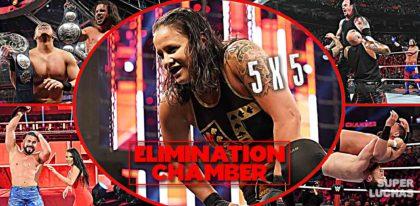 5 x 5: Lo mejor y lo peor de Elimination Chamber 2020