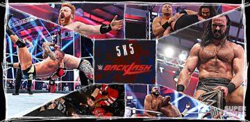 5 x 5: Lo mejor y lo peor de WWE Backlash 2020