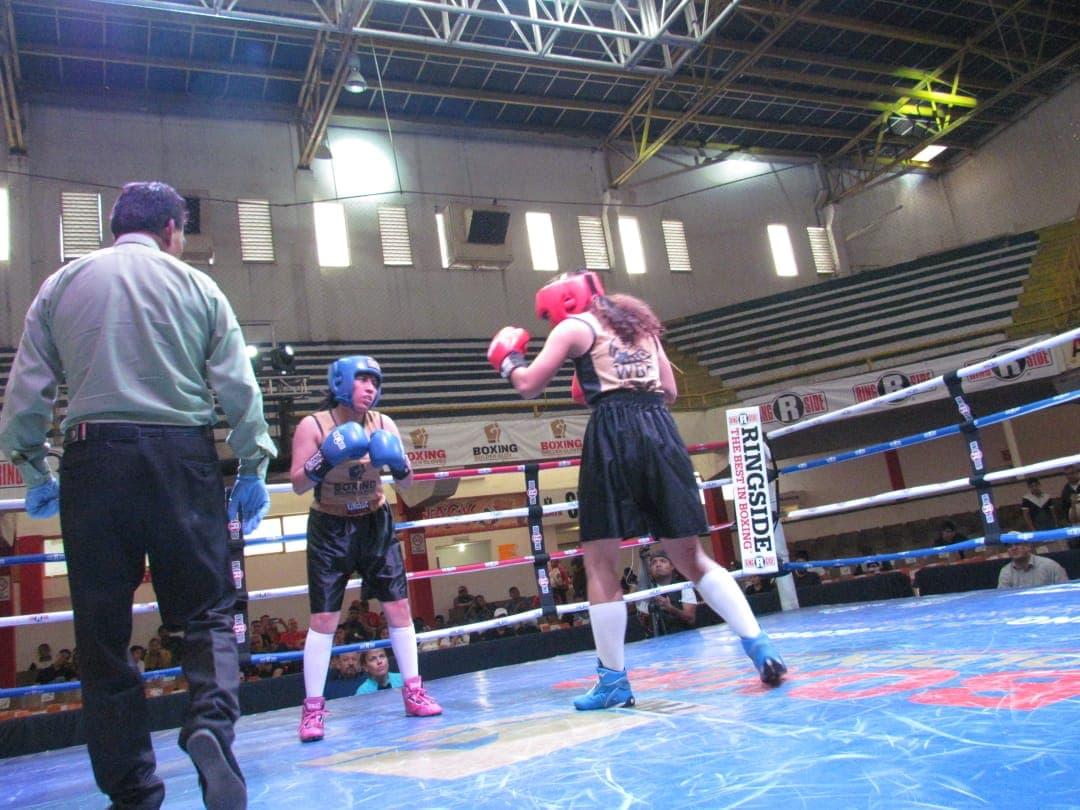 Tapatía Corza ganó el Boxing Golden Gloves 1