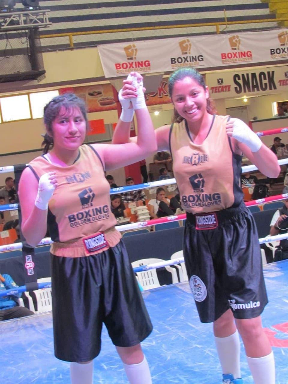 Tapatía Corza ganó el Boxing Golden Gloves 2