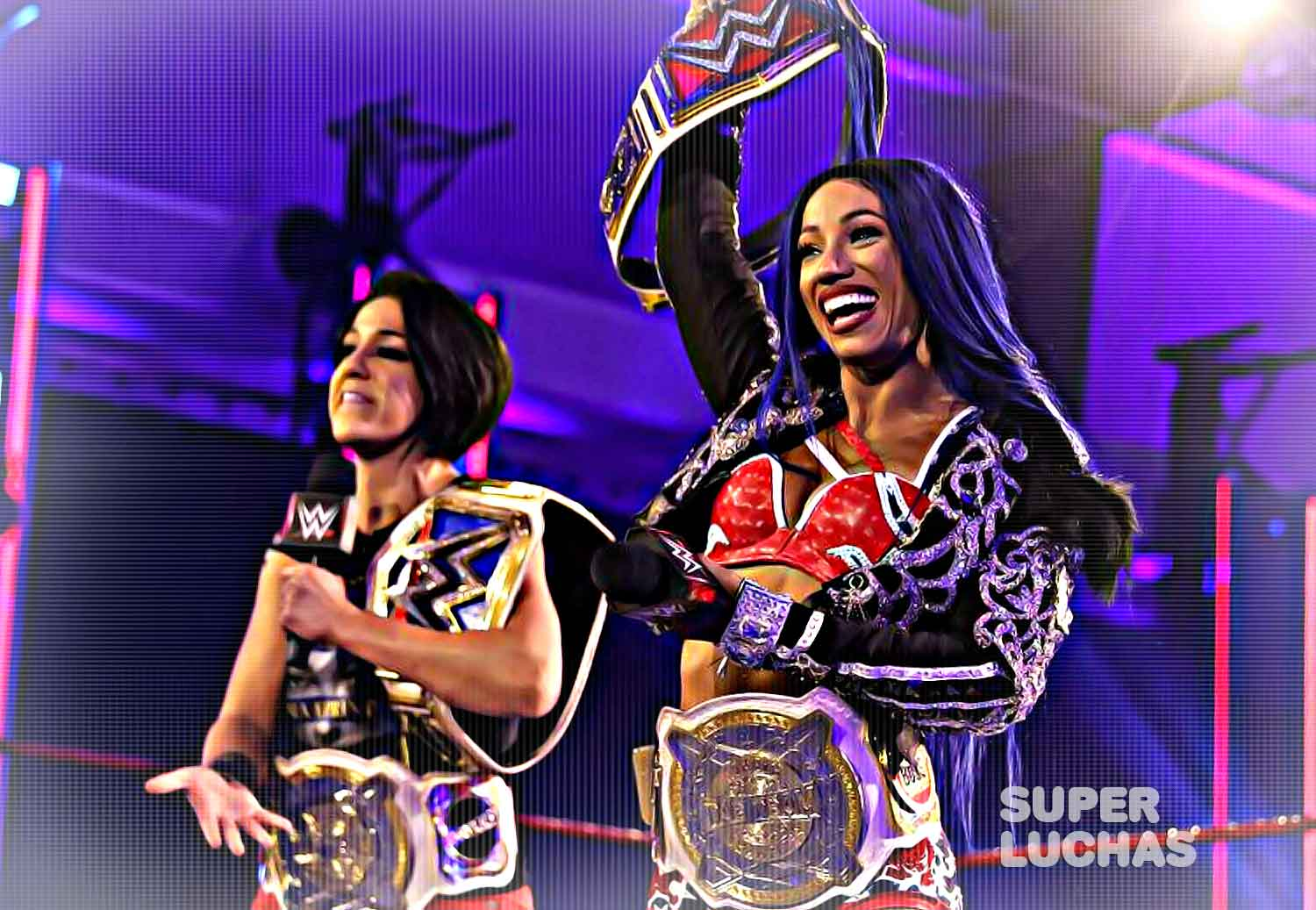 Sasha Banks y Bayley