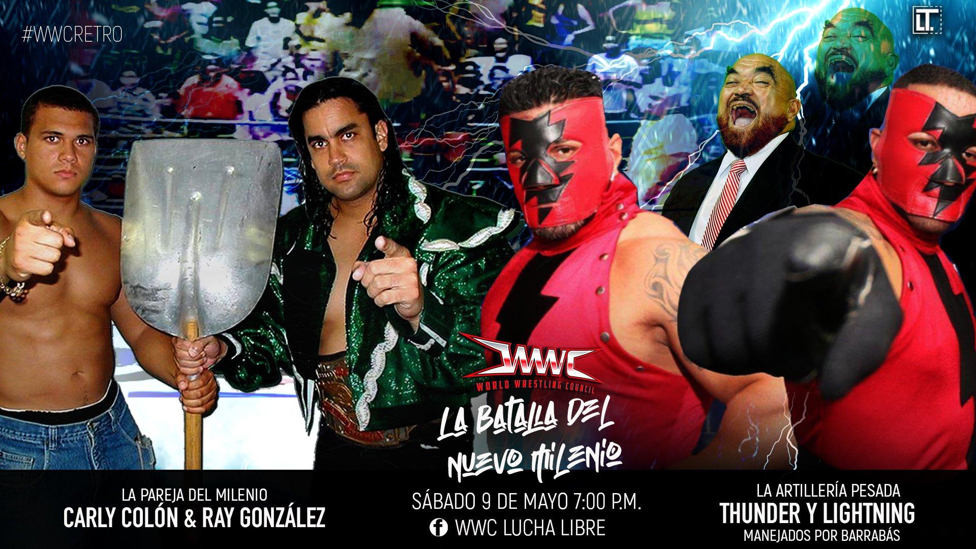 WWC presenta en su totalidad Aniversario 2009 - Máscara vs Cabellera entre Ray Gonzalez y La Pesadilla (Epico) 3