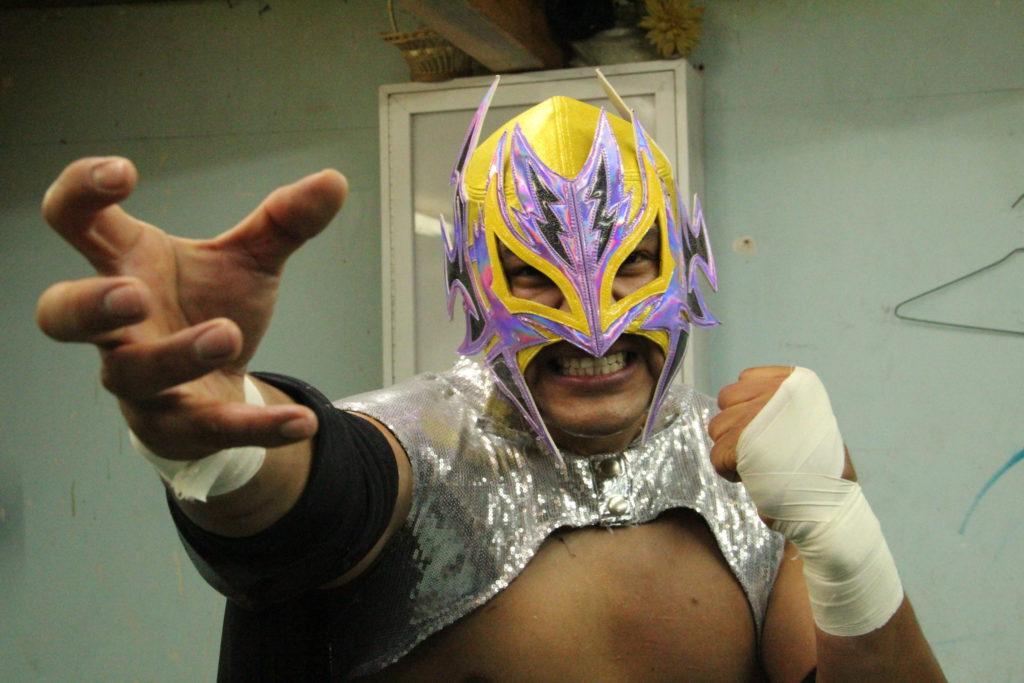 Aero Boy está listo para el torneo King of the Deathmatch