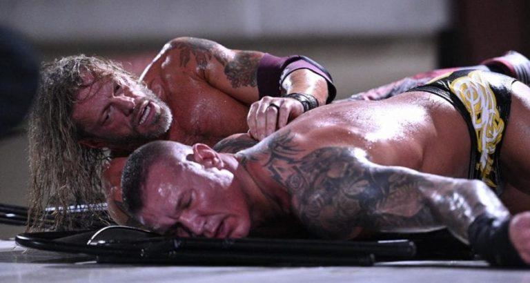 Edge en WrestleMania 36
