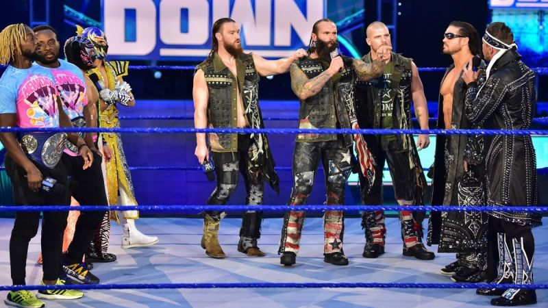 The Forgotten Sons en SmackDown
