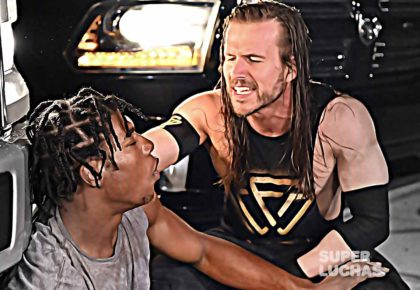 Adam Cole vs Velveteen Dream Backlot Brawl