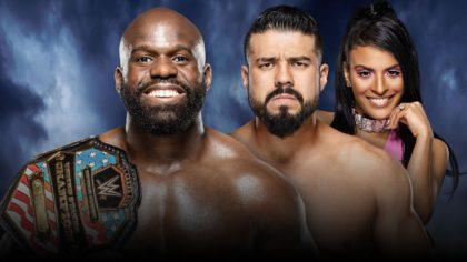 Apollo Crews vs Andrade en WWE Backlash 2020
