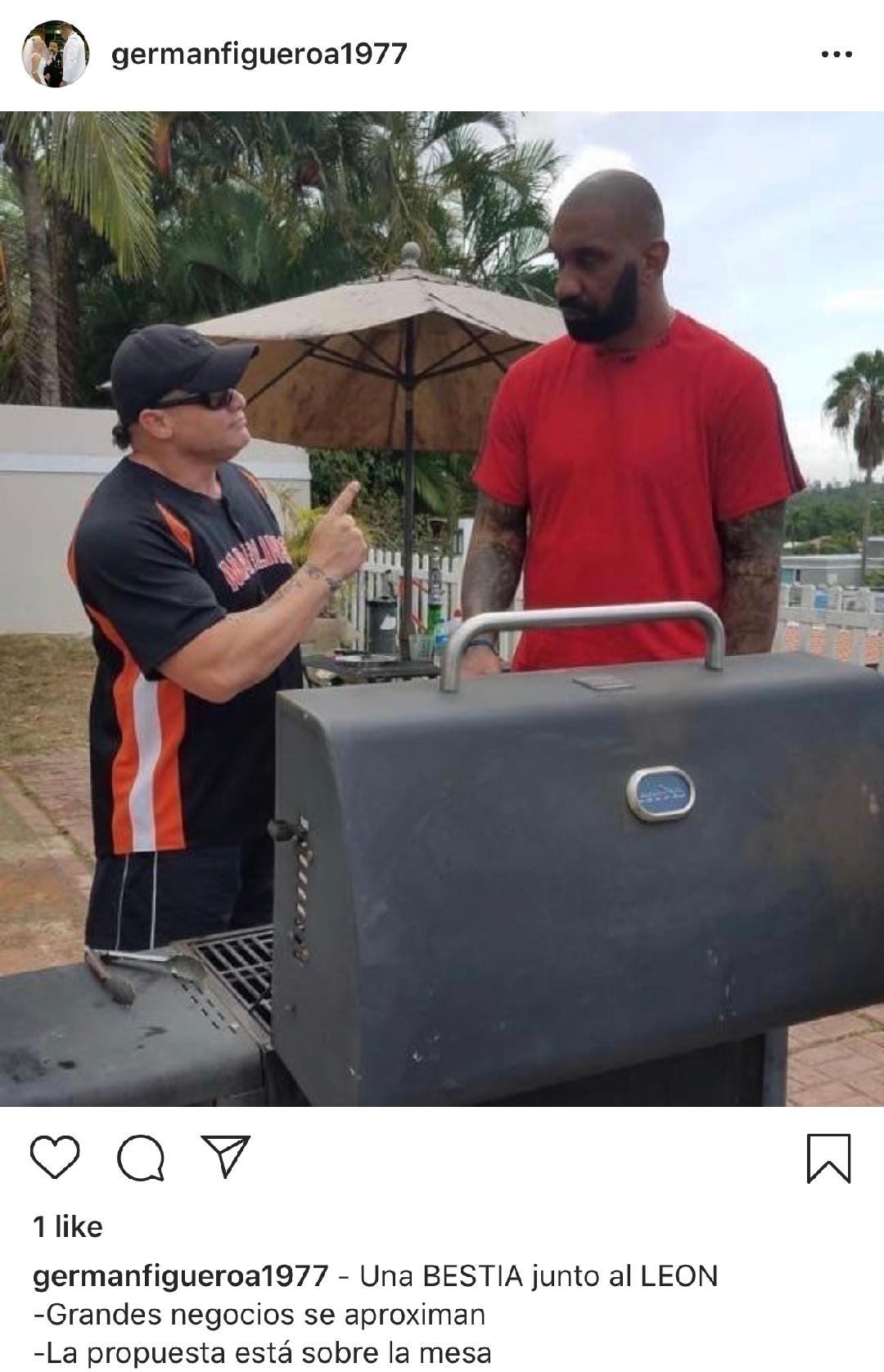 "¿Apolo se reúne con ""La Bestia"" Peter John Ramos en Puerto Rico? 1"