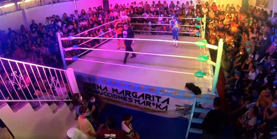 Arena de San Luis performs function without social distancing 1