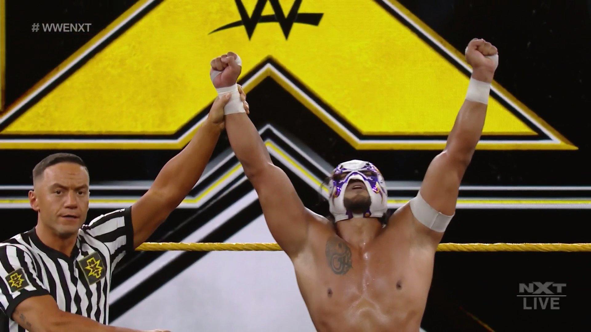 Hijo del Fantasma se salva de secuestro en NXT