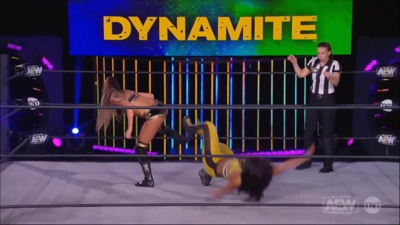AEW DYNAMITE (15 de abril 2020) | Resultados en vivo | Jon Moxley vs. Jake Hager 69