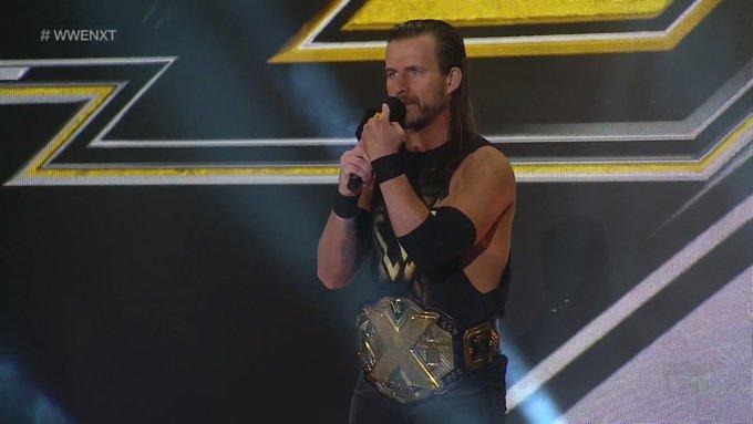 Contrato de Adam Cole con WWE