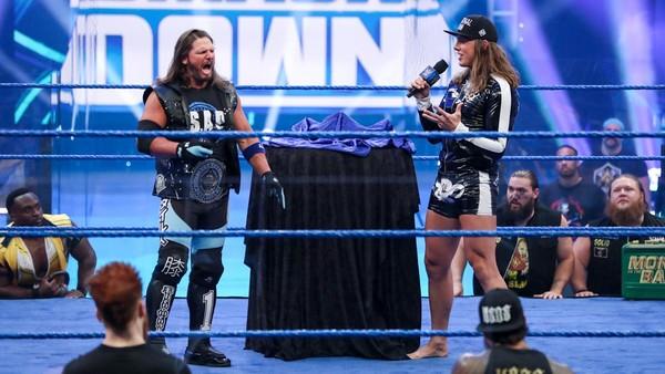llegada de Matt Riddle a SmackDown