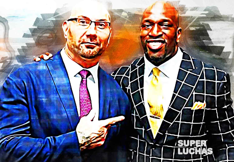 Batista y Titus O'Neil