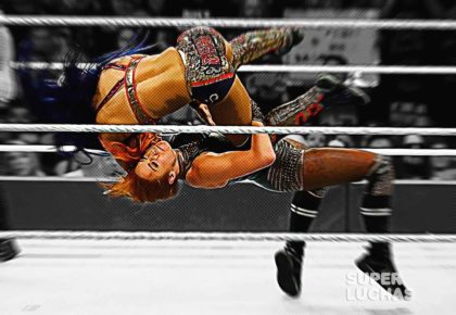 Becky Lynch y Sasha Banks