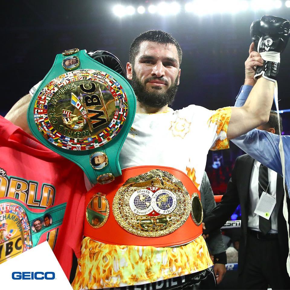 Beterbiev derrotó a Gvozdyk y le quitó el invicto 1