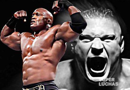 Bobby Lashley contra Brock Lesnar