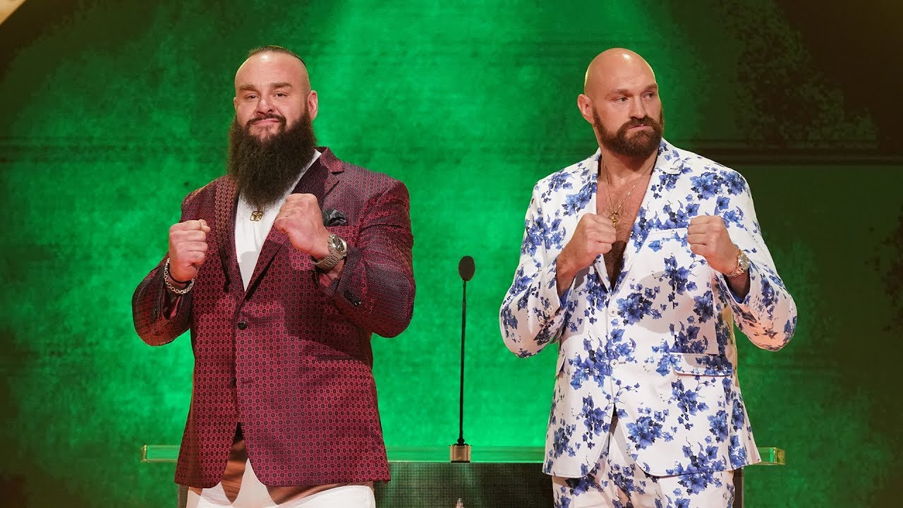 Tyson Fury estará en Crown Jewel 2019 Braun Strowman vs Tyson Fury en WWE Crown Jewel 2019 (Conferencia de Prensa del 11 de octubre de 2019) / WWE