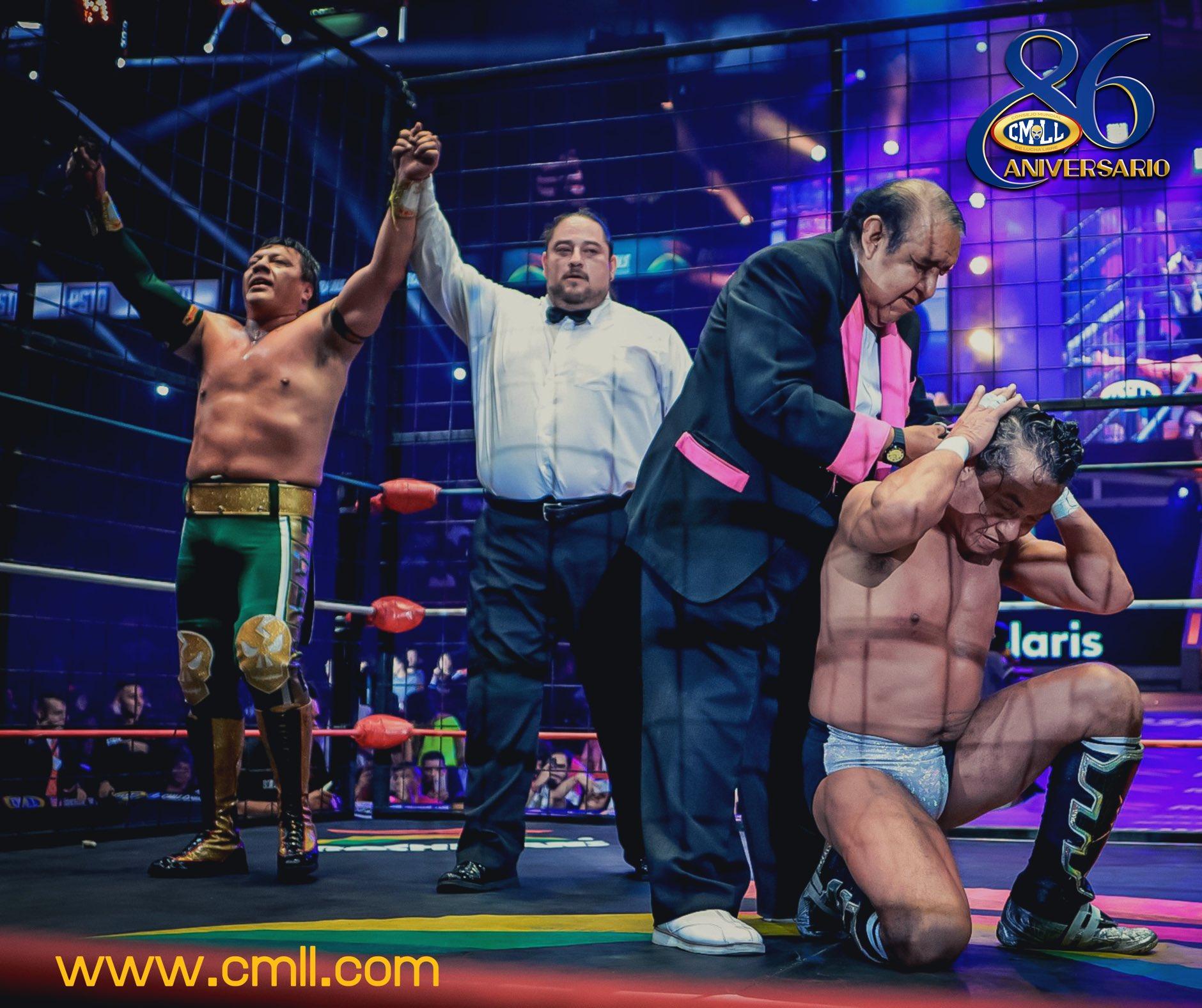 CMLL Aniversario 86 (27 de septiembre 2019)   Resultados en vivo   7 cabelleras en juego 18