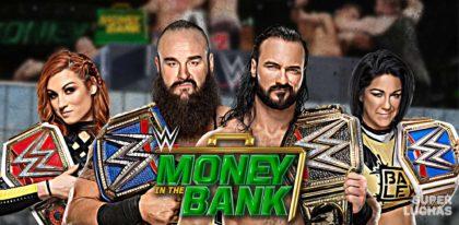 WWE Money in the Bank 2020 | Resultados en vivo