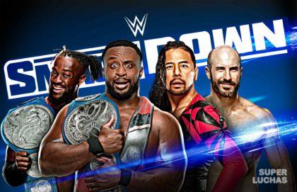 WWE SMACKDOWN 10 de julio 2020