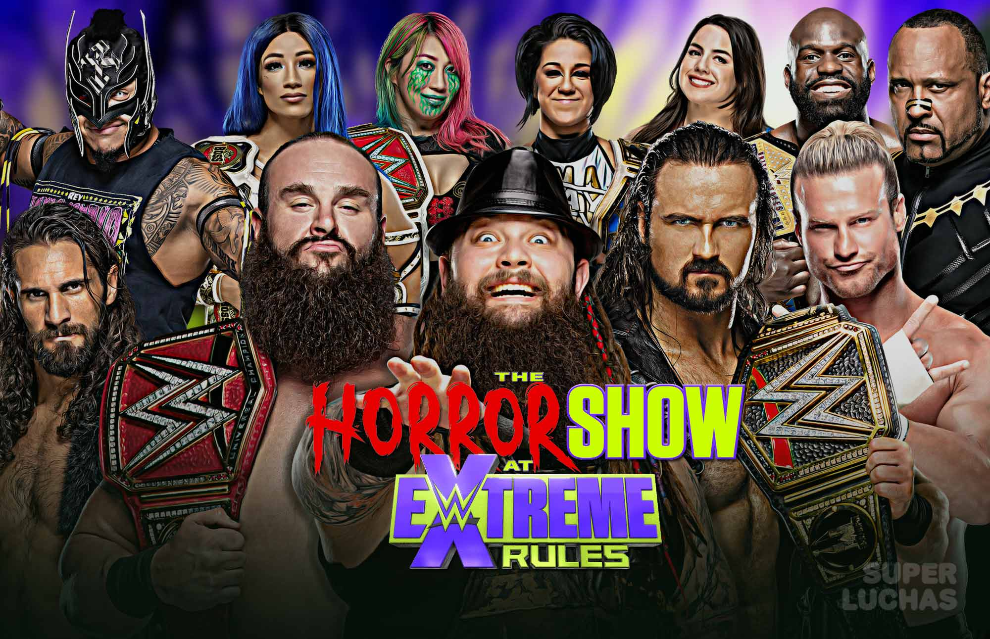 Resultados THE HORROR SHOW AT EXTREME RULES The Horror Show at Extreme Rules 2020