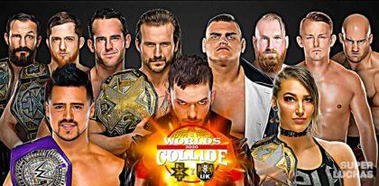 Resultados WWE WORLDS COLLIDE 2020