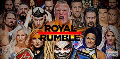 Resultados Royal Rumble 2020