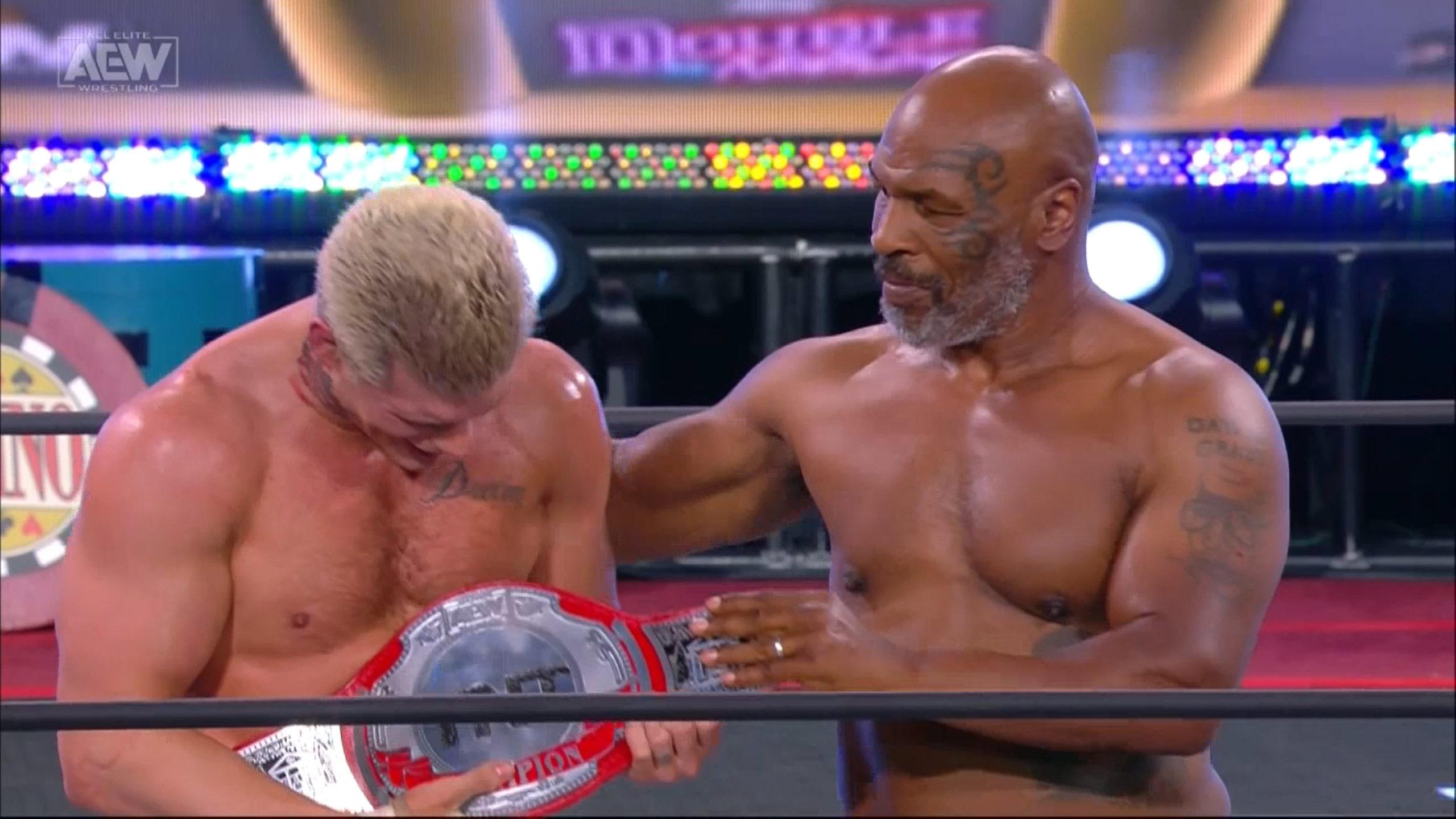 Cody Rhodes habla de WWE