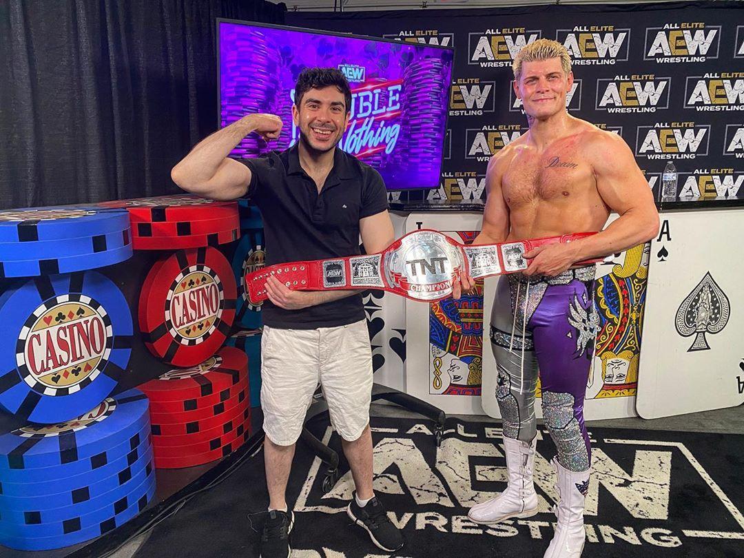 Cody Rhodes y Tony Khan