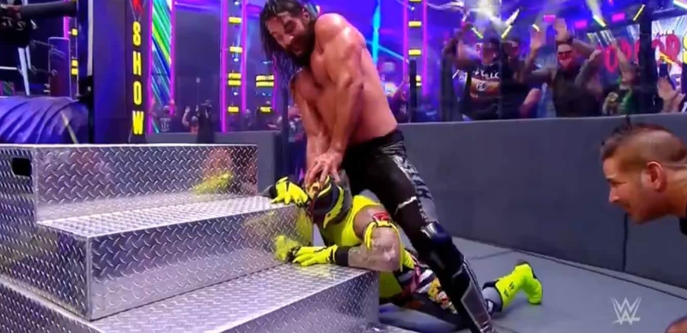Rey Mysterio vs Seth Rollins en Extreme Rules 2020