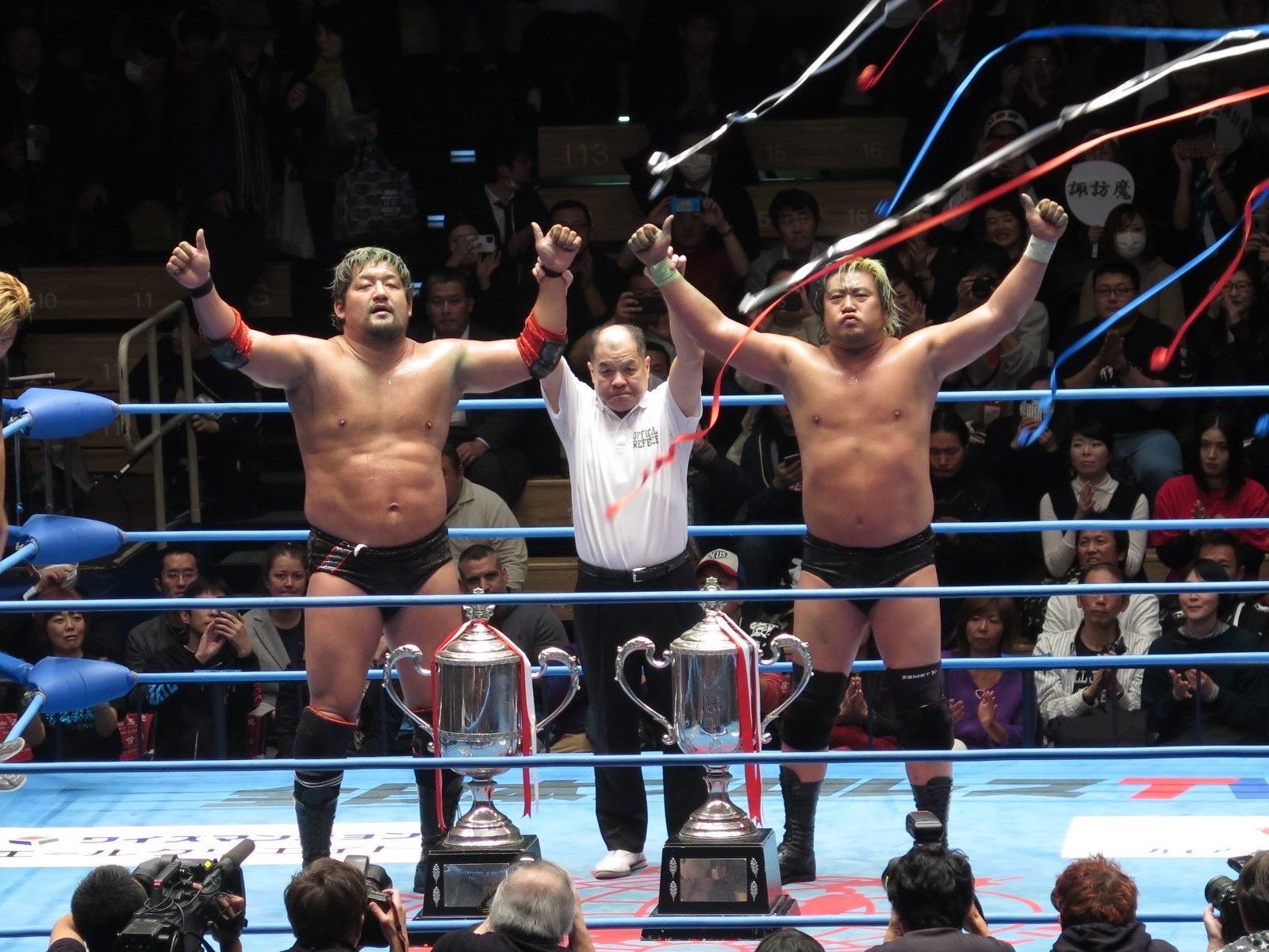 "AJPW: ""Real World Tag League 2019"" Violent Giants son los ganadores 1"