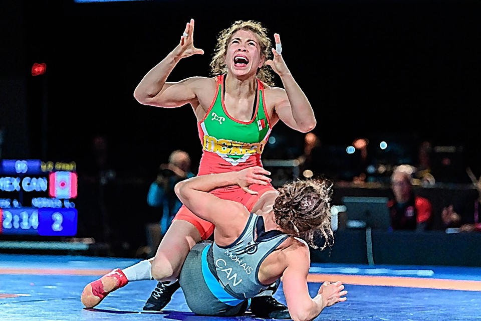 Jane Valencia's great feat in the Olympic fight 3