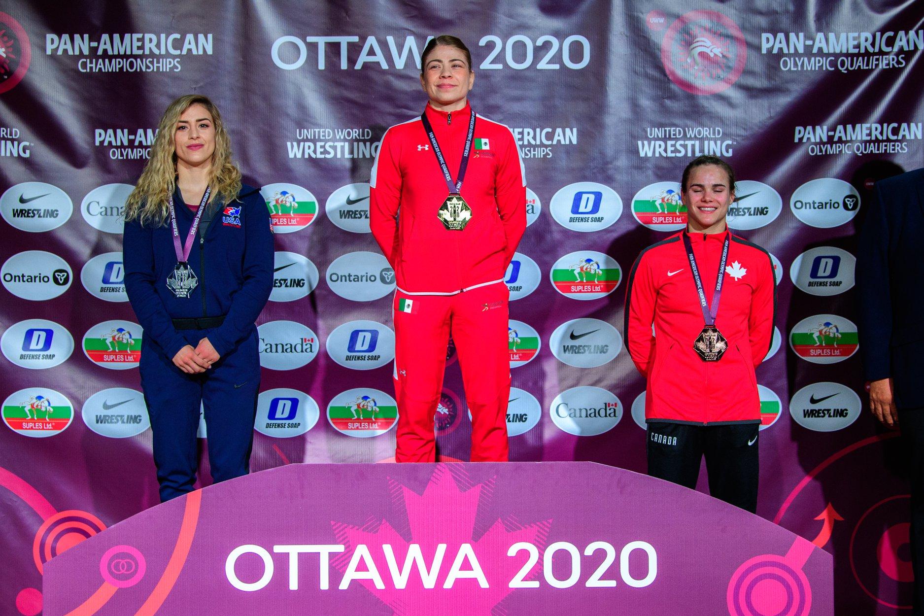 La gran hazaña de Jane Valencia en la lucha olímpica 1