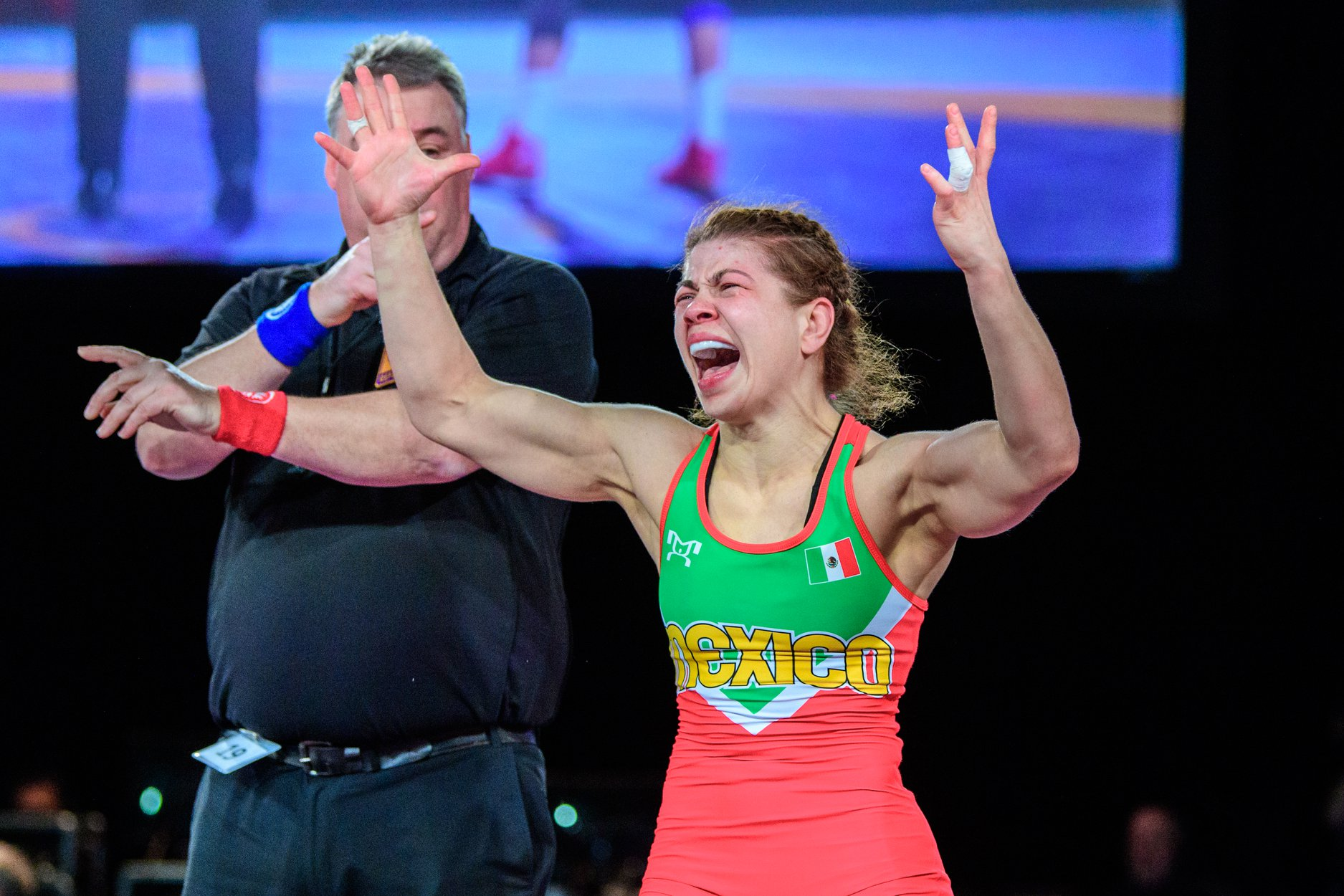 La gran hazaña de Jane Valencia en la lucha olímpica 3