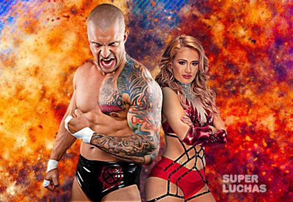 Killer Kross y Scarlett Bordeaux