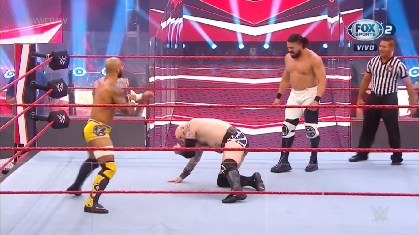 Andrade y Ángel Garza van por el Campeonato de Parejas RAW