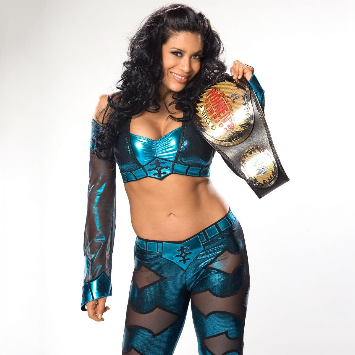 Melina en el WWE Hall of Fame