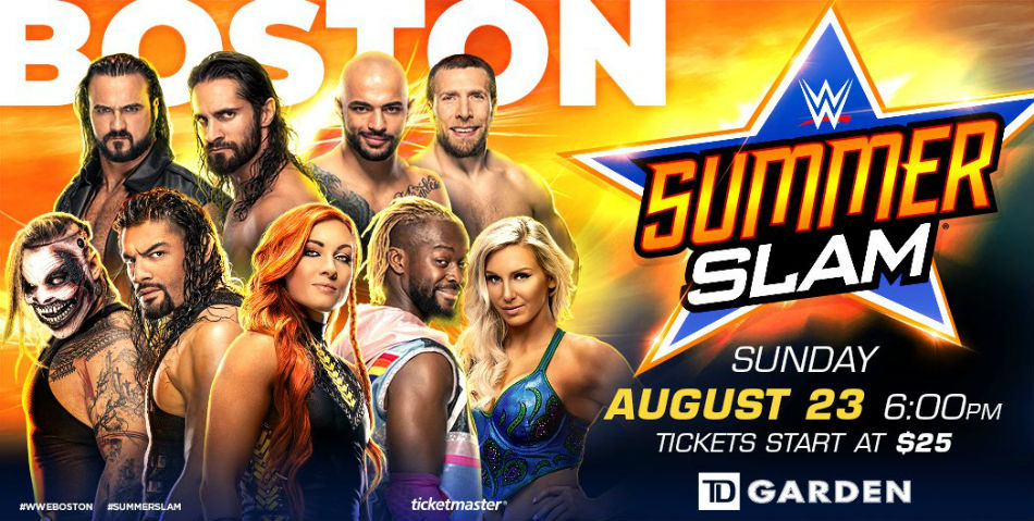 sede de SummerSlam 2020 Cartel de SummerSlam 2020