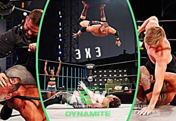 3 x 3: Lo mejor y lo peor de AEW Dynamite 17 de junio 2020
