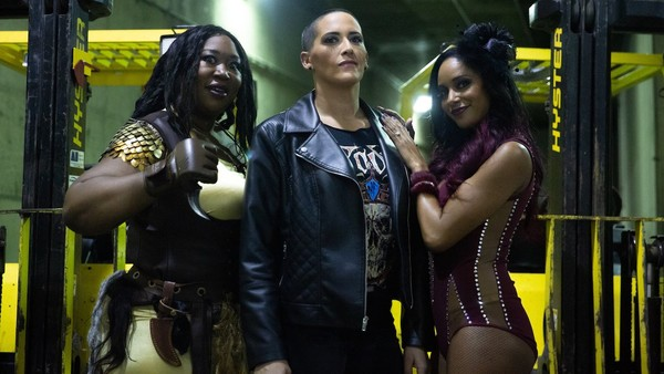 Awesome Kong, Mel and Brandi Rhodes, The Nightmare Collective - AEW