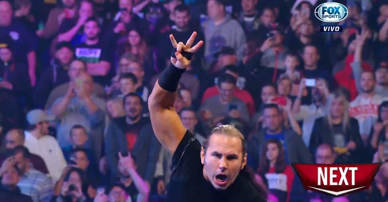 Matt Hardy no estuvo en Raw