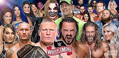 Resultados WrestleMania 36 (5 de abril 2020)