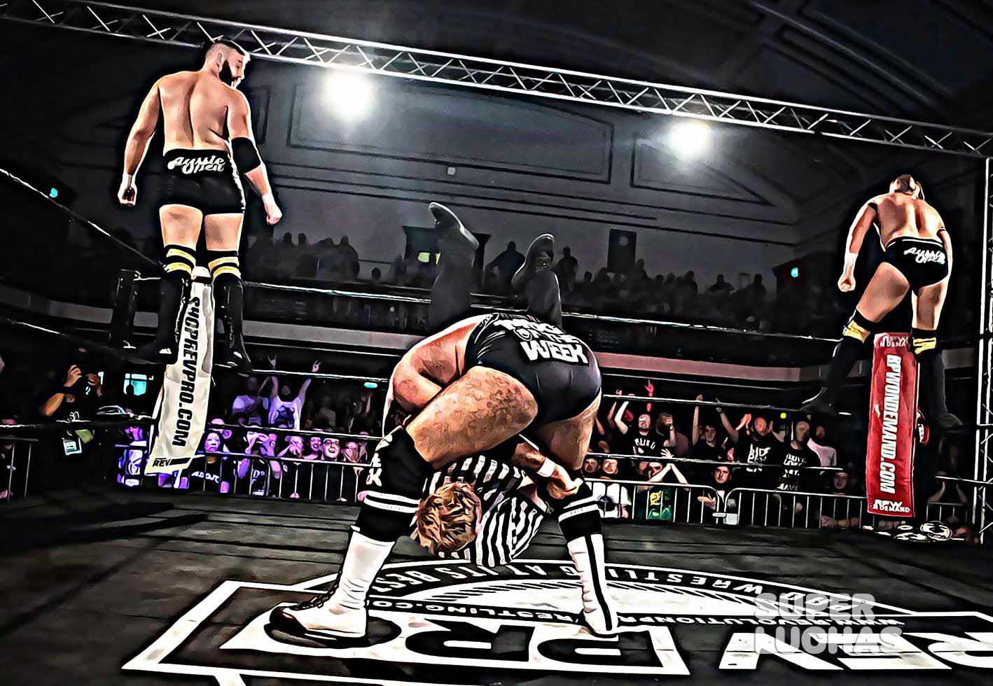 Revolution Pro Wrestling Referi