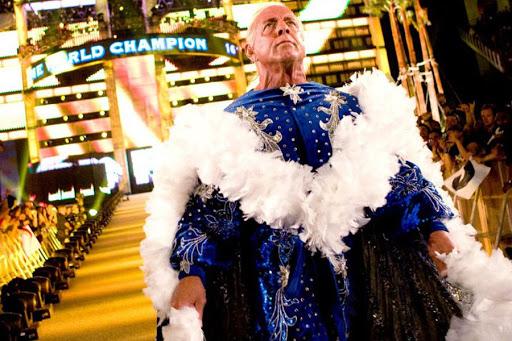 Ric Flair at WrestleMania