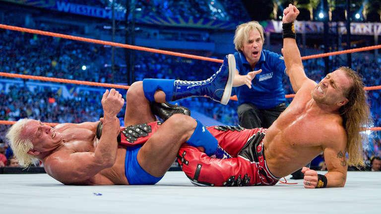 Ric Flair vs Shawn Michaels
