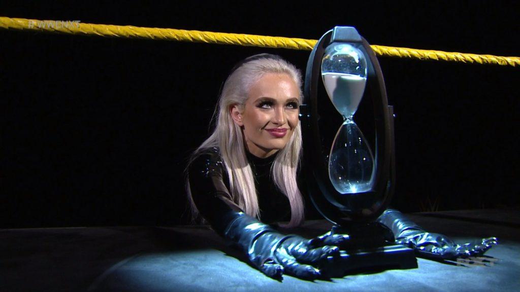 El debut de Scarlett Bordeaux en NXT