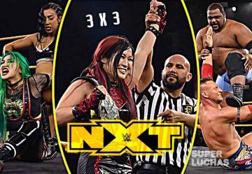 3 x 3: Lo mejor y lo peor de NXT 15 de julio 2020