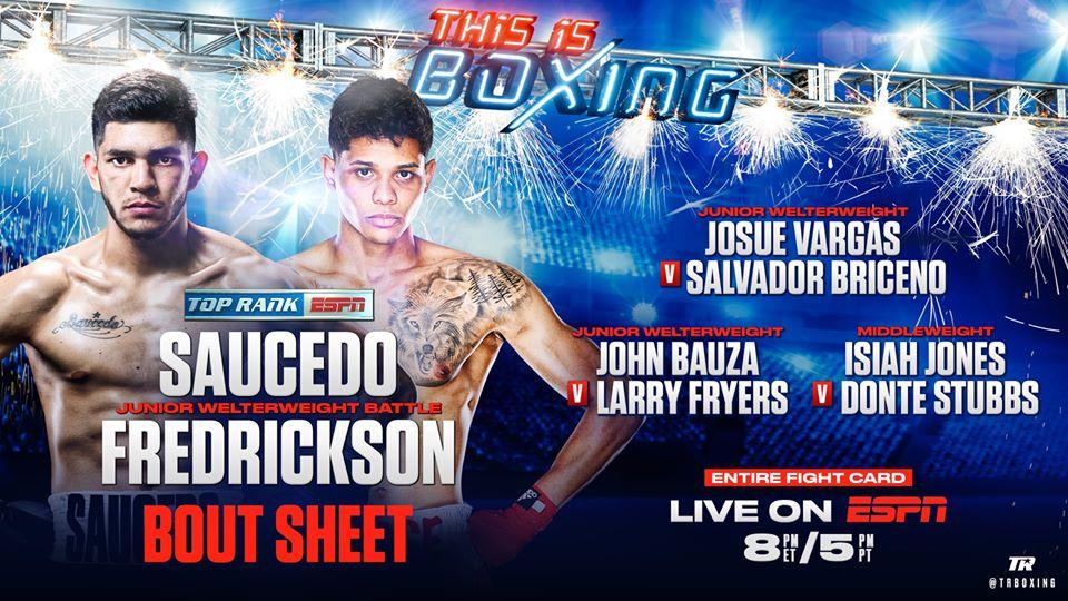 Alex Saucedo won